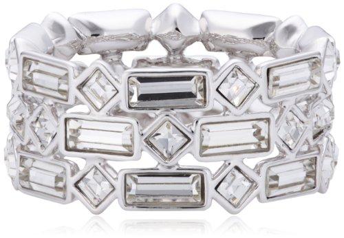 Swarovski Damen-Ring Metall Swarovski-Kristall weiß Gr. 55 (17.5) 5007760