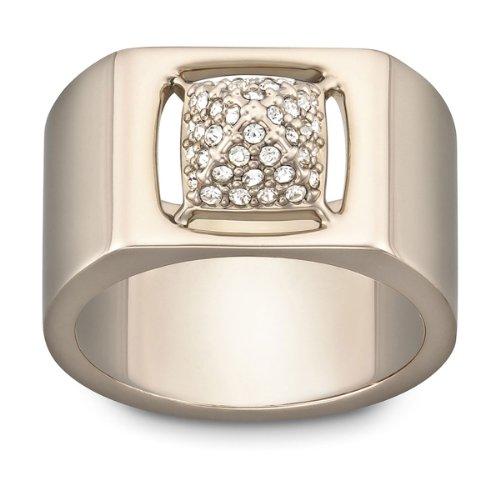 Swarovski Damen-Ring Metall Tactic PVD Rose Gold Kristallpavé klar Gr. 56 (17.8) 1179791