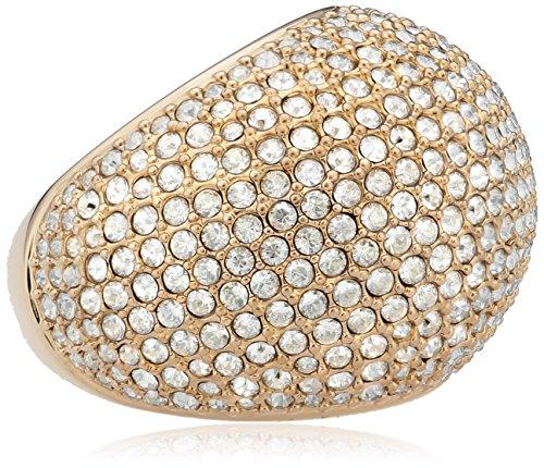 Swarovski Damen-Ring Metalllegierung Glas weiß Gr. 52 (16.6) - 5102571