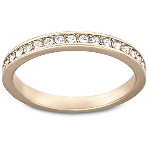 Swarovski Damen-Ring Rare teilvergoldet Glas weiß Gr. 51 (16.2) - 5032899