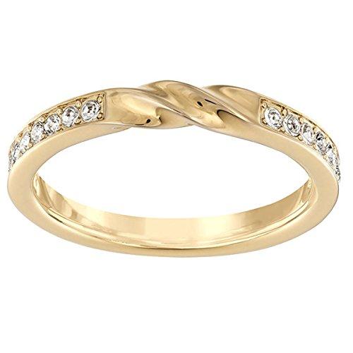 Swarovski Damen-Ring rhodiniert Glas transparent Gr. 52 (16.6) - 5139662