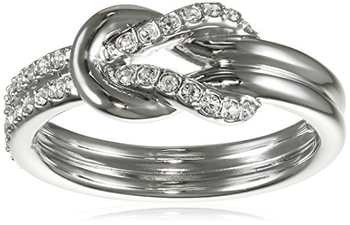 Swarovski Damen-Ring rhodiniert Glas transparent Gr. 58 (18.5) - 5007776