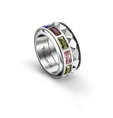 TAMARIS Ring 'Maya' Edelstahl 2-teilig multicolor, Ringgröße:60 (19.1 mm Ø)