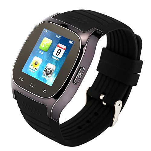 Tera® M26 Smartwatch Armband-Uhr Bluetooth LCD Anzeige Pedometer Barometer Höhenmesser mit Schrittzähler Anti-Lost für iPhone Samsung Galaxy