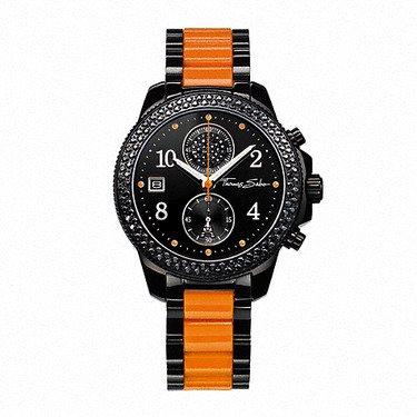 Thomas Sabo - WA0130-240-203 - Glam & Soul - Ø 38 mm - schwarz/orange