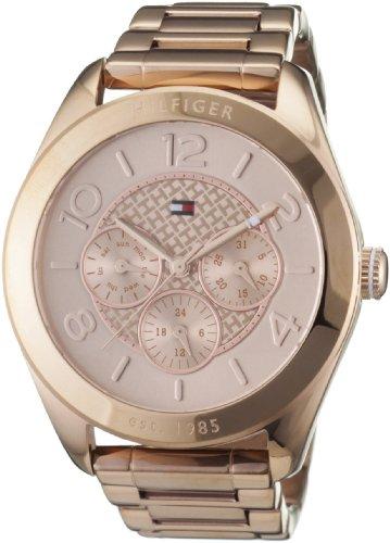 Tommy Hilfiger Damen-Armbanduhr Sport Luxury Analog Edelstahl beschichtet 1781204