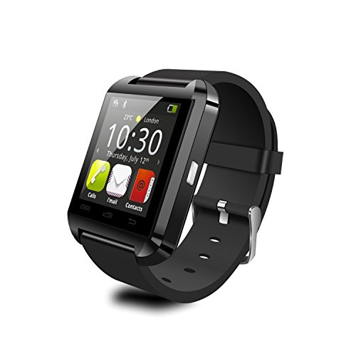 YAMAY U8 Bluetooth 4.0 Smart Watch Fitness Smart Uhr Armband Schlaf-Monitor Ringing Erinnerung Fern Fotografieren Touch Screen hände frei für Samsung S4 / S5 / S6 Rand / Note 2/3/4, Nexus, HTC, Sony und HUAWEI Android-Smartphones