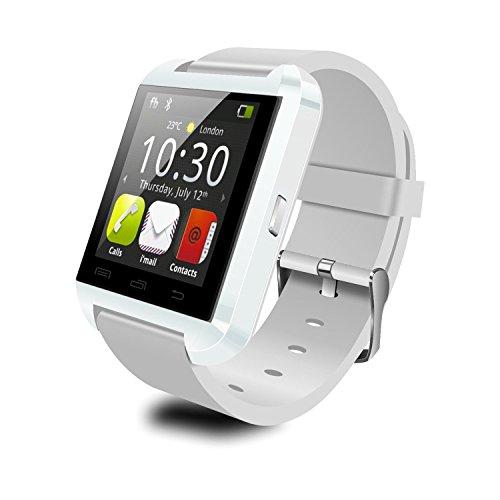 YAMAY U8 Smartwatch Bluetooth Fitness Smart Uhr Watch with Touch Screen Hands free Kalorienzähler Schrittzähler Armband Activity Tracker Wristband für Android Smartphones Samsung/HUAWEI/HTC/SONY/Nexus