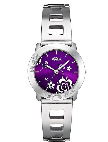 s.Oliver Damen-Armbanduhr Quarz SO-1662-MQ