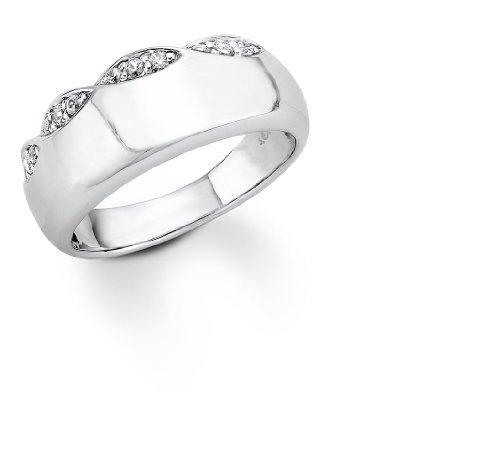 s.Oliver Damen-Ring Silber 925  Gr.54 399937