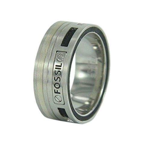 Fossil Herren Edelstahl Ring JF85420
