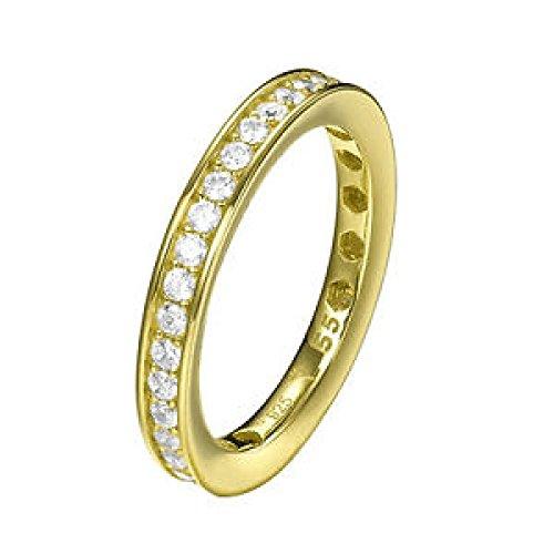 Joop Damen Fingerring Silber Gold Taylor JPRG90788B
