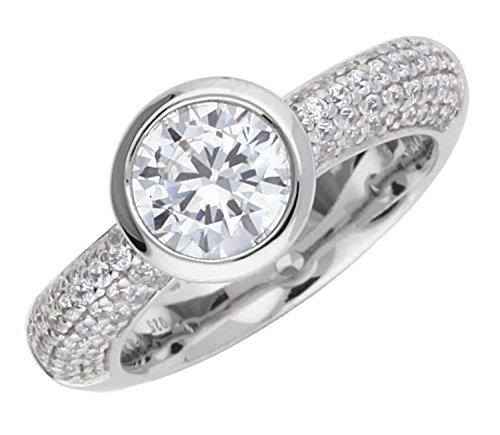 Joop Damen Fingerring Silber Silber Meryl JPRG90646A