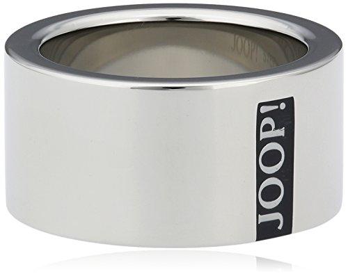 Joop Herren Fingerring Edelstahl Silber Logo Signature JPRG10603A