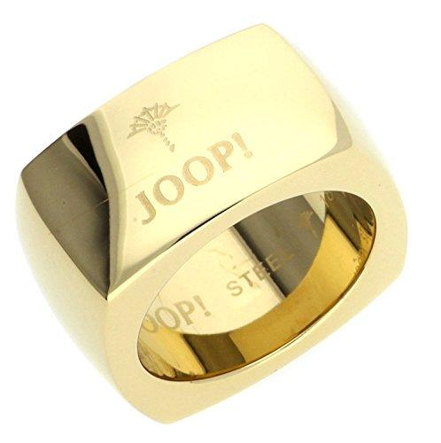 Joop Unisex-Ring LOGO SIGNATURE Edelstahl JPRG10610B1