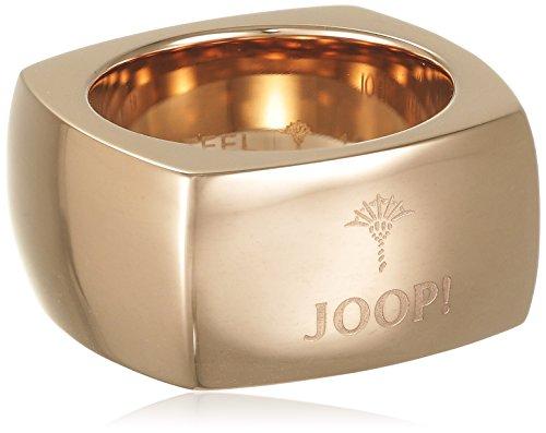 Joop Unisex-Ring LOGO SIGNATURE Edelstahl , rotgolden -  JPRG10610C