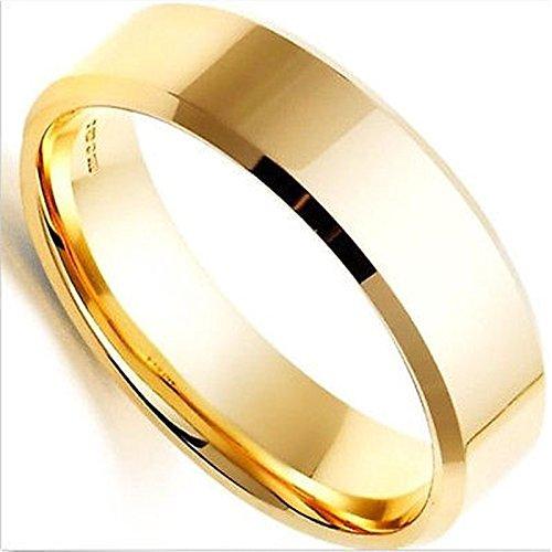 Merssavo Schmuck Herren-Ring Damen-Ring Titan-Stahl Vintage Ring