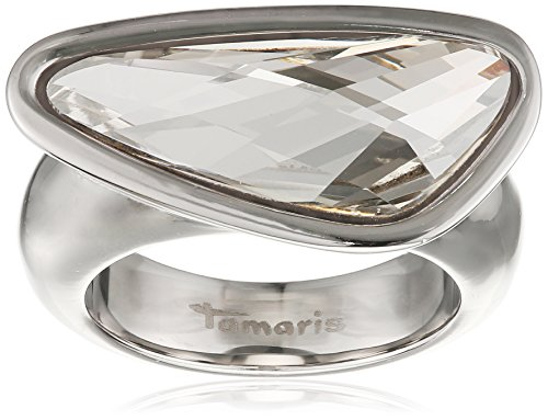 Tamaris Damen-Ring Wings Edelstahl Zirkonia Silber