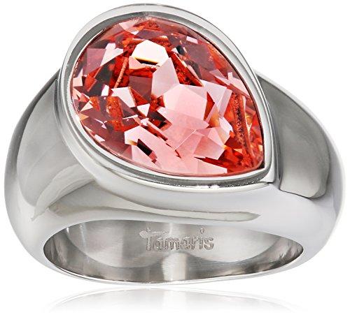 Tamaris Ring Amy 100232 Edelstahl silber rosa