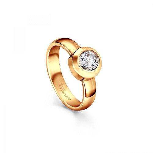 Tamaris Ring Aurora 106928 Edelstahl Zirkonia gold