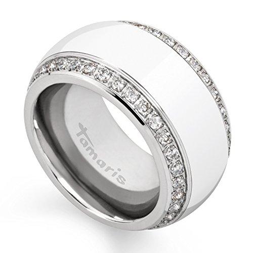Tamaris Ring Martha 100534 Edelstahl Zirkonia silber weiss