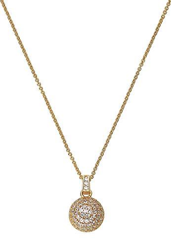 JETTE Gold Damen-Kette 333er Gelbgold 88 Zirkonia One Size, gold