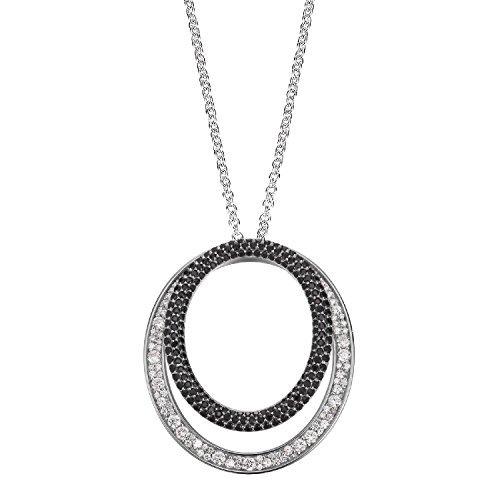 JOOP! Damen-Kette Statement in 925er Sterling Silber mit Zirkonia JPNL90600C800
