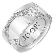 Joop-Damen-Ring-925-Sterling-Silber-rhodiniert-Kristall-Zirkonia-Junction-wei-0