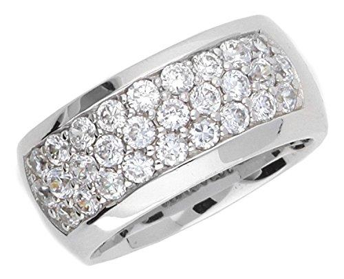Joop Damen-Ring mit weissem Zirkonia Gr.55