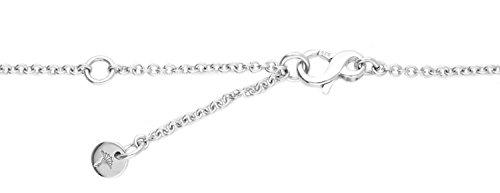 Joop JPNL90646A420 Damen Collier Laura Sterling-Silber 925 Weiß Zirkonia 47,5 cm