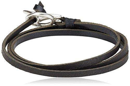 Liebeskind Berlin Joy cometa Damen Armband, Schwarz (black 0001)