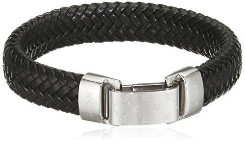 Joop Herren-Armband Edelstahl Leder 21.5 cm - JPBR10620A215
