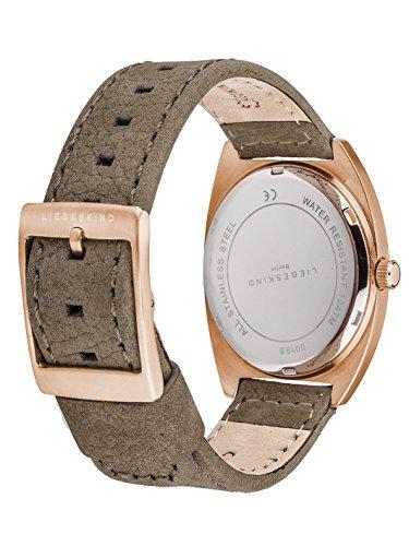 Liebeskind Berlin Damen-Armbanduhr Nubuk Analog Quarz LT-0019-LQ