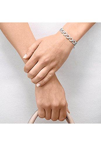 JETTE Silver Damen-Armband JAZZ Silber 98 Zirkonia One Size, silber