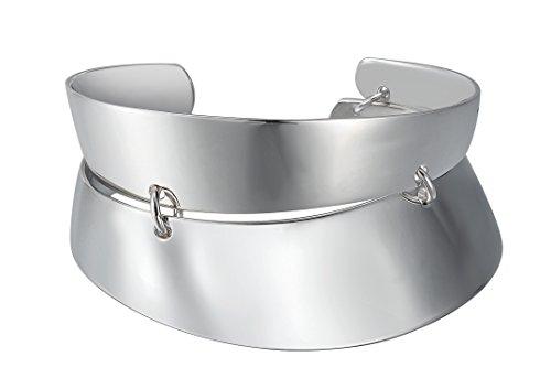 Joop! Damen-Armreif 925 Sterling Silber mit Anhänger JPBA90077B630