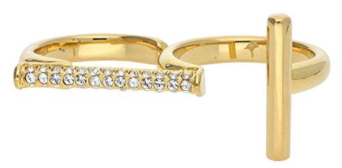 Joop! Damen-Ring Edelstahl Zirkonia weiß Rundschliff Gr. 56 (17.8) - JPRG00006B190