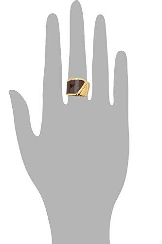Joop! Damen-Ring Match Edelstahl rhodiniert Kunststoff Gr. 55 (17.5) - JPRG10591B550