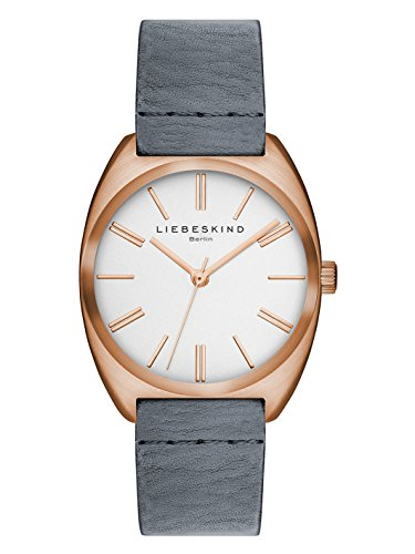Liebeskind Berlin Damen-Armbanduhr Vegetable Analog Quarz Leder LT-0034-LQ
