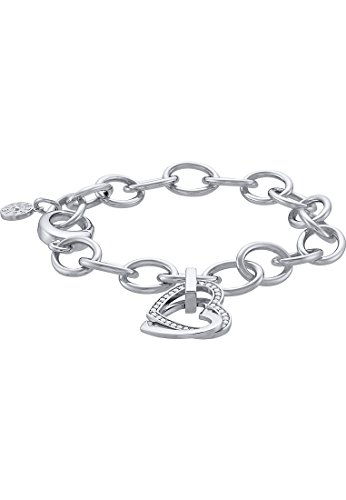 JETTE Silver Damen-Armband Moments of Love Silber 37 Zirkonia One Size, silber