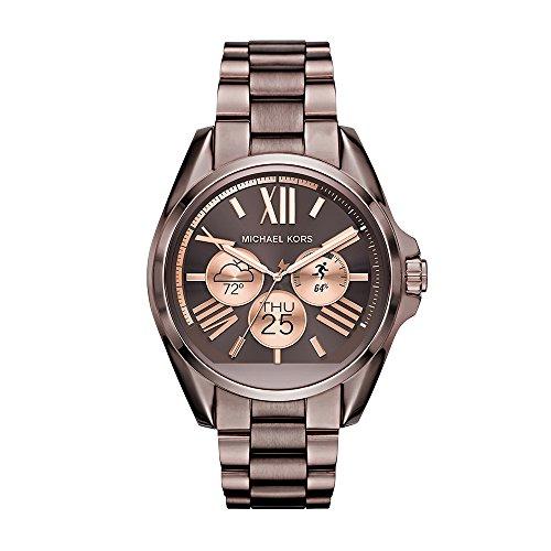 Michael Kors Damen-Armbanduhr Analog, digital Quarz One Size, braun