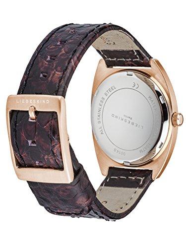 Liebeskind Berlin Damen-Armbanduhr Brand New Snake Analog Quarz LT-0014-LQ
