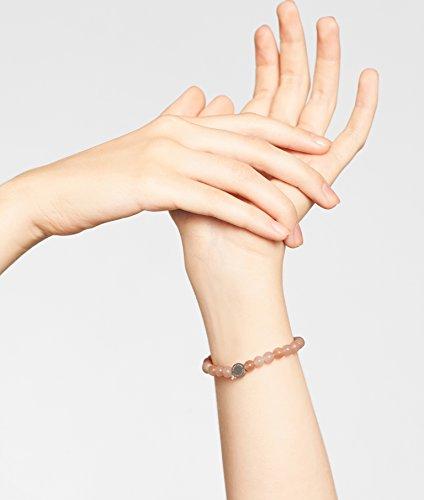 LIEBESKIND BERLIN Damen-Armband Edelstahl mattiert 17 cm - LJ-0084-B-17
