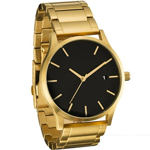 Uhr Herren Armbanduhr Herren Business Herrenuhren Armbanduhren Edelstahl Zifferblatt Leder Metall Uhrarmband (1)