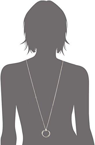 Joop Damen Halskette 925 Sterling Silber Zirkonia Embrace 70.0 cm weiß JPNL90693A450