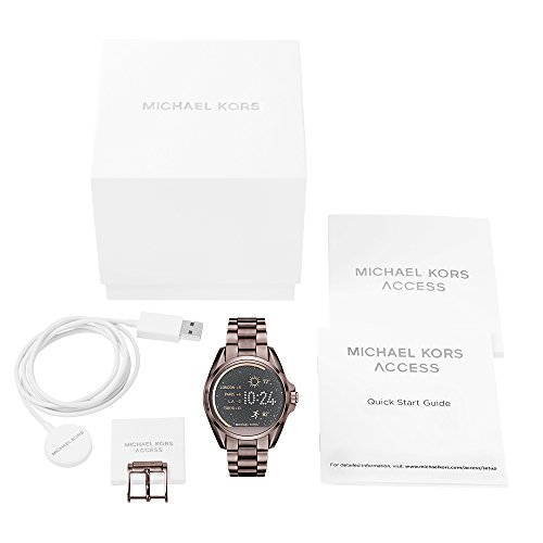 Michael Kors Damen-Armbanduhr Analog, digital Quarz One Size, braun