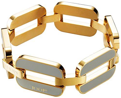 Joop! Damen-Armband Pristine Edelstahl rhodiniert Kunststoff 22 cm - JPBR10352B220