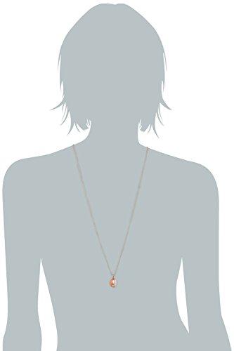 Joop Damen Halskette 925 Sterling Silber Harz Coral 70.0 cm rot JPNL90682C450