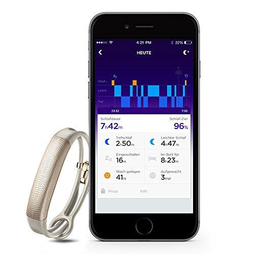 Jawbone UP2 Bluetooth Aktivitäts-/Schlaftracker-Armband (für Apple iOS und Android) oat spectrum