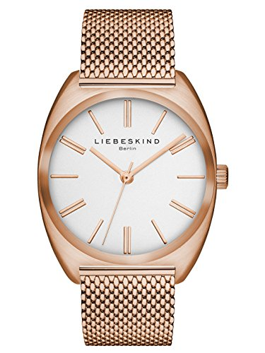 Liebeskind Berlin Damen-Armbanduhr Mesh Analog Quarz LT-0030-MQ