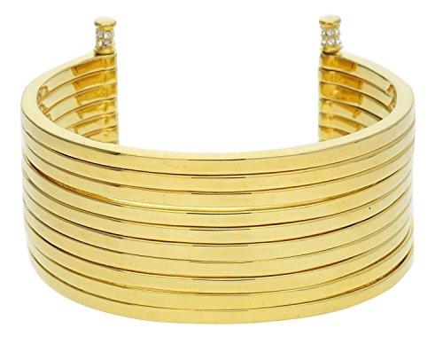Joop! Damen-Armband Edelstahl Glas weiß Rundschliff 16 cm - JPBA00001B580